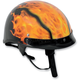 A4 Black/Orange Helmet