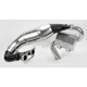 Single Pipe Tuned Exhaust System w/Black Canister - 9725