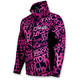 Womens Fuchsia/Black Grind Swift Tri-Laminate Hoody