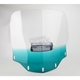 Gradient Teal Vented Windshield - MEP4753