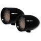 Dual Function Red LED Rigid Mount Bullet Lights - LSK1201R-R