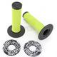 Black/Green SX II Grips - 219624-1089