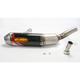Factory 4.1 Carbon Fiber Slip-On Muffler w/Titanium Mid-Pipe - 041358
