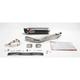 Underseat Oval Slip-On Extreme Muffler w/Carbon Fiber Muffler - HA92CFOC