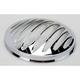 Chrome Deep Cut Bezel for 7 in. Factory Headlights - 08-400