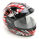 Red/Black/White IS-16 SN Specter Helmet
