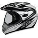 FX37 Dual Sport Pearl White Multi Helmet - 01102163