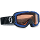 Blue/Blue Youth 89Si  Snowcross Goggle - 217801-0003108