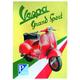 Vespa Grand Sport Sign - SIGN2