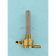 Click-Slick Forward Facing Raw Brass Petcock - 3/8 in. NPT - 75-516F-BS