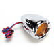 Dual Function Deep Cut Factory Style Turn Signal with LED Fire Ring - 12-764