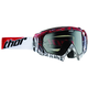 White/Red/Black Rectangle Hero Goggles - 2601-1730
