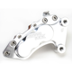 Polished J-Six Ultra Six-Piston Front Brake Caliper for 13 Inch Rotors - 306T561