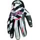 Black/Red Hazard-X Gloves