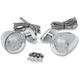 Custom LED Bullet Marker Lights w/Diamond Base Mount - 2040-0462
