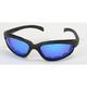 Black C-1 RV Performance Sunglasses w/Blue RV Lens - C-1BK/BLU