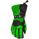 Womens Green/Black Cascade Gloves