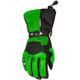 Womens Green/Black Cascade Gloves