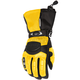 Womens Yellow/Black Cascade Gloves