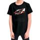 Youth Black Grunge T-Shirt