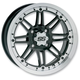 Rear Machined SS216 Alloy 12x7 Wheel - 1228505404B