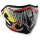 Lethal Threat Clown Half Face Mask - WNFMLT04H