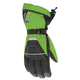 Black/Green Storm Gloves