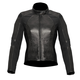 Womens Black Vika Leather Jacket