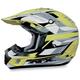 FX-17Y Hi-Vis Yellow Multi Youth Helmet