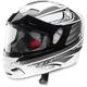 Gray Venom Solstice Snow Helmet