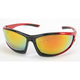 Red Safety C-120 Sunglasses w/Red RV Lens - C-120RED/RED