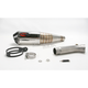Oval Slip-On Extreme Muffler w/Polished Stainless Steel Muffler - SI97SSOC