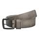 Black Circumstands Leather Belt