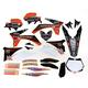 White Hart & Huntington Race Team Graphics Kit w/Seat Cover - N405651