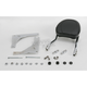 Touring Quick-Detach Passenger Backrest Kit w/8 in. x 8 in. Pad - 34-5204-01