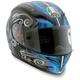 Black/Blue Stigma Grid Helmet