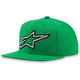 Green Crisscross Hat - 1013-8505160