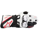 White/Black GP Plus Leather Glove