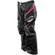 Womens Black/Pink Gem Pants