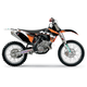 2011 Factory KTM Team Graphics Kit w/Seat Cover - 70227