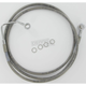 Front Clear-Coated Braided Stainless Steel Brake Line Kits - 1741-1791