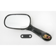 Black OEM Oval-Style Replacement Mirror - 20-87082