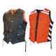 Mens Black/Orange G2 D.O.C. Reversible Safety Vest