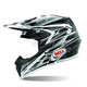 Silver Moto-9 Legacy Helmet - Convertible To Snow