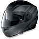 Flat Black/Anthracite N104 N-Com Modular Helmet