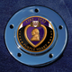 Max 1.8 Inch Timing Cover Coin Mount With Engraveable Purple Heart 2-Sided Coin - JMPC-M-5-PURPLEH