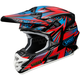 Red/Blue/Black VFX-W Maelstrom TC-1 Helmet