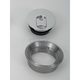 3 in. Vented Flush Mount Gas Cap w/Weld-In Steel Non-Locking Bung - CCE9600VS