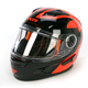 Orange/Black Nitro Helmet