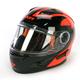 Orange/Black Nitro Helmet